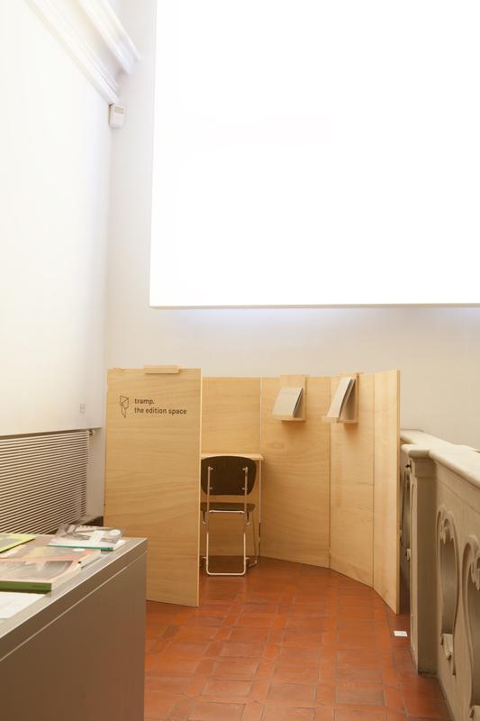 tramp @ Badischer Kunstverein Karlsruhe © Alina Schmuch